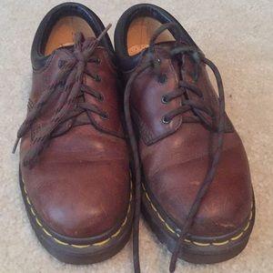 Doc Martens brown shoes